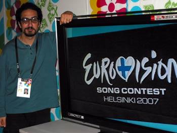 Toni Sant at Eurovision 2007